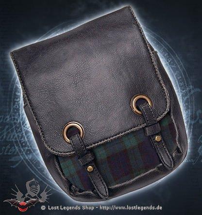 Kilttasche dunkelgrün-blau