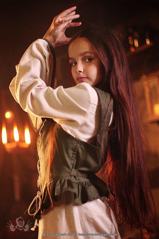 Kinder Mittelalterkleid Kleine Magd