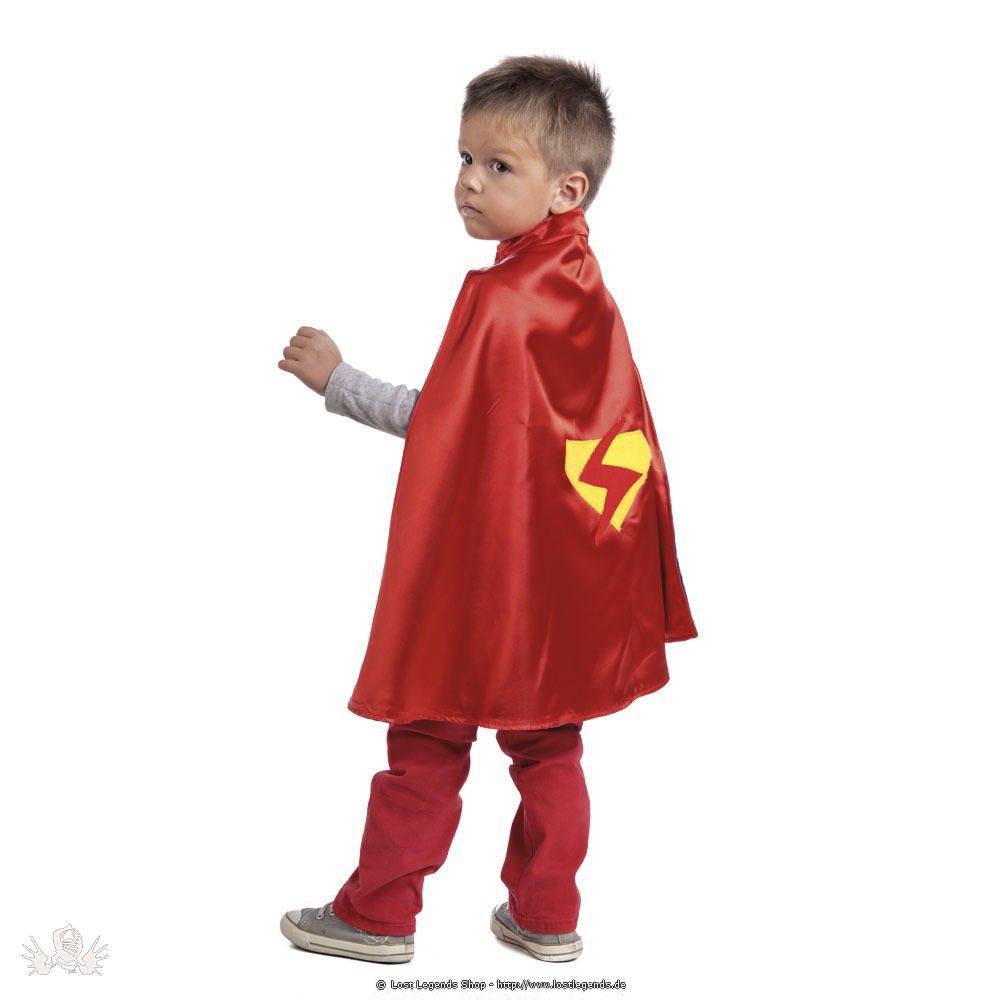 Kinderkostüm kleiner Held Wendeumhang