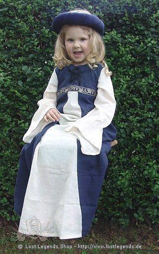 Kleines Burgfräulein Kleid, Baumwolle