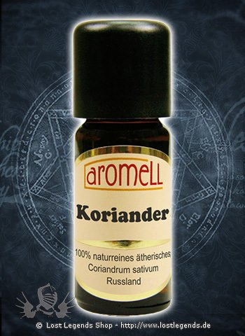 Ätherisches Koriander-Öl Coriandrum sativum, 10 ml