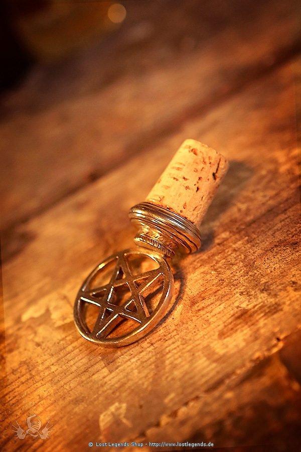 Korken mit Pentagramm