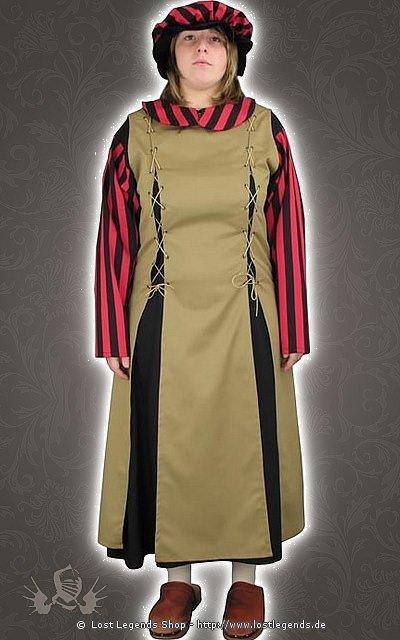 Küchengehilfin Mittelalter Kostüm