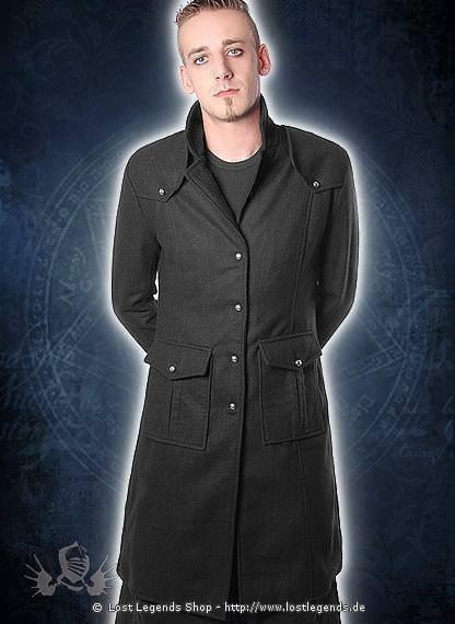 Kurzer Herrenmantel 868 Mantel, Wolle