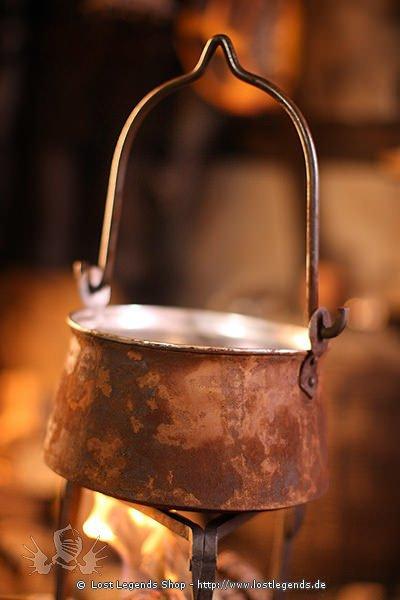 Lagertopf aus Stahl 5 Liter