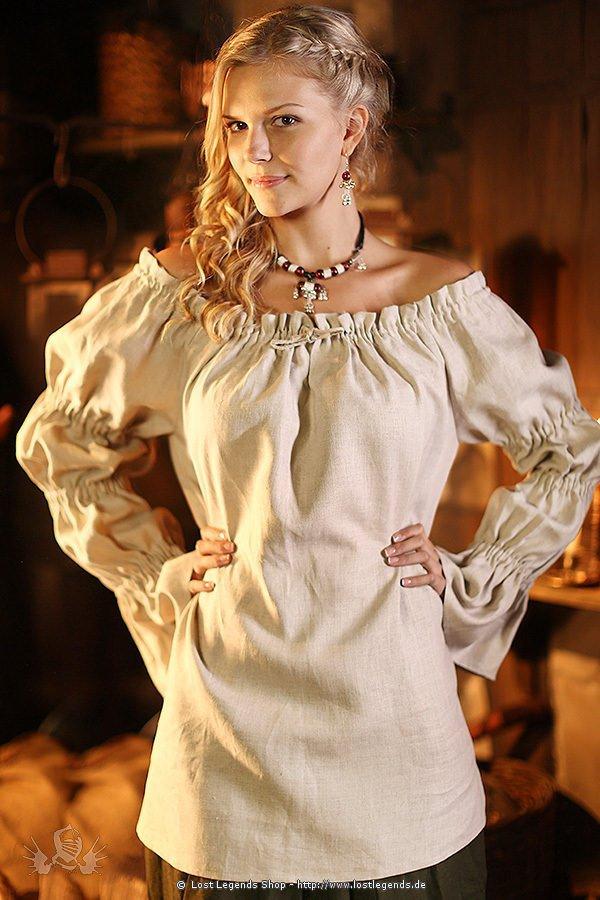 Medieval Linen Blouse
