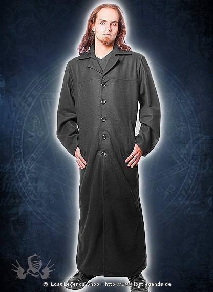 Langer Mantel Gothix Wolle