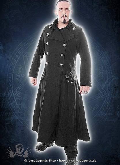 Langer Offiziersmantel Gothic Mantel