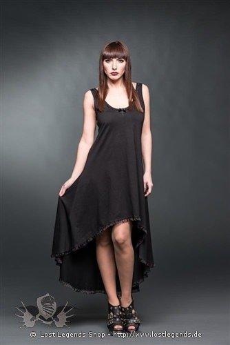 langes kleid mit spitzeneinsatz am r cken gothic kleider. Black Bedroom Furniture Sets. Home Design Ideas