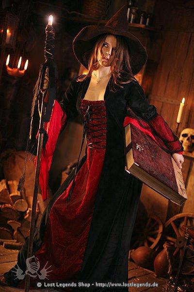 Mittelalter Larp Kleid Hexe Samira