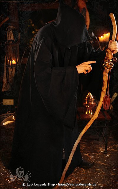 Larp Kutte Death Robe