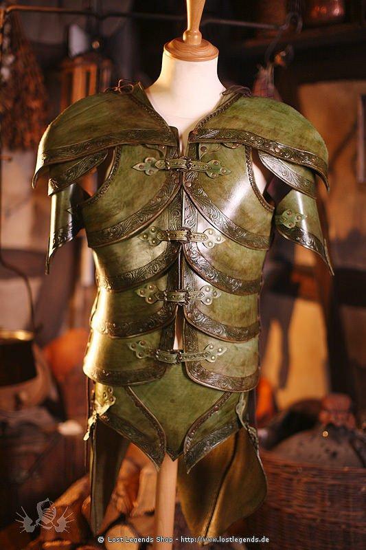 Larp Leder-Rüstung Noble Elf Armor
