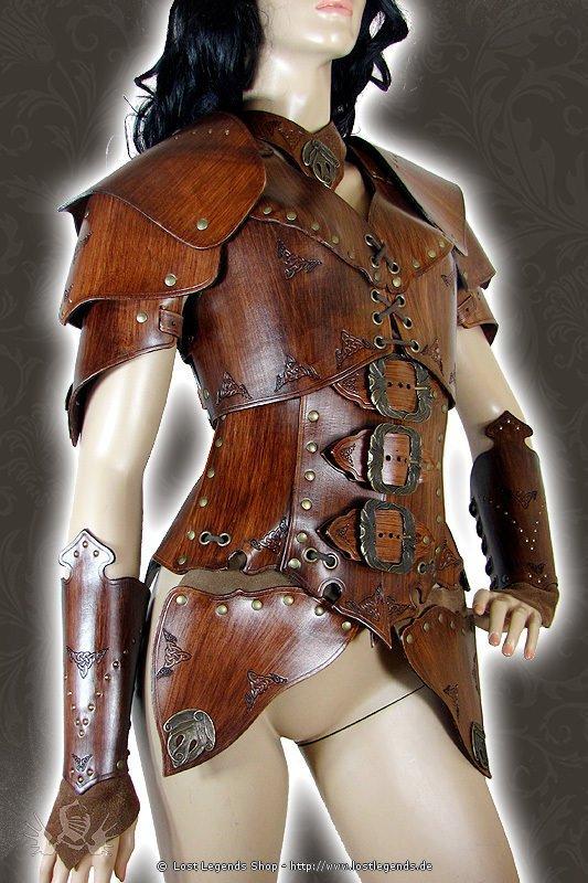 Larp Lederrüstung Umbra Armour