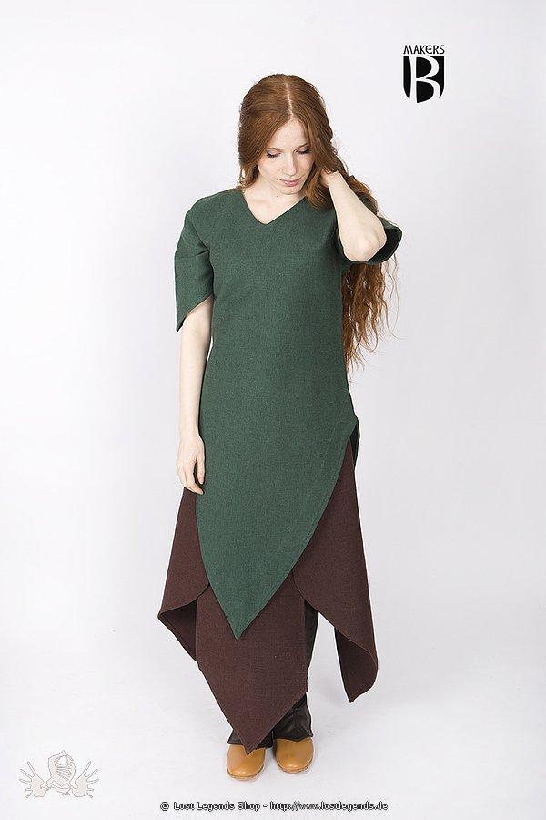 Larp Tunika Laylin, dunkelgrün