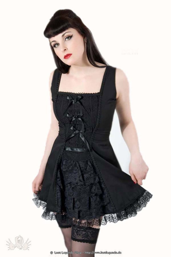 Lavinia Bow Gothic Dress