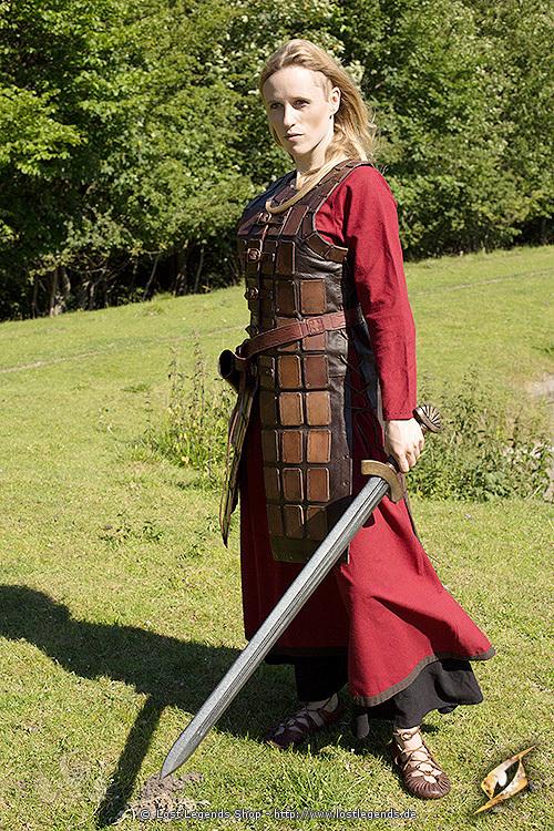 Leder Brigandine