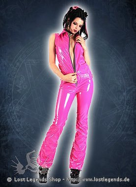 Lovesect Catsuit Lack, Pink