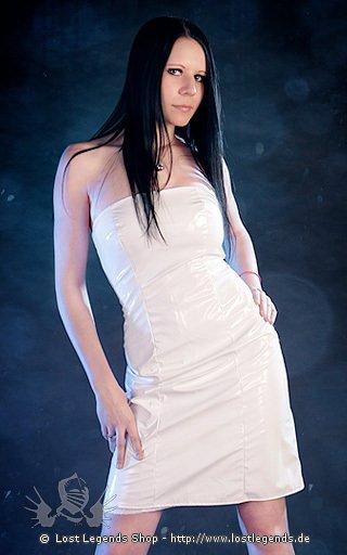 Lovesect White Short Dress Kleid, Lack