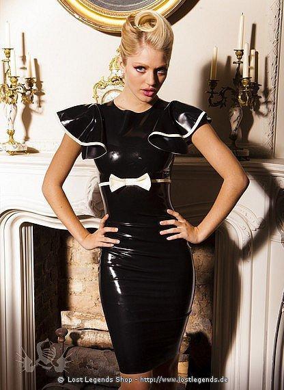 Mademoiselle Dress Latex Kleid