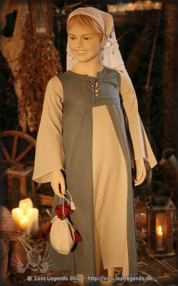 Mädchenkleid Baumwolle
