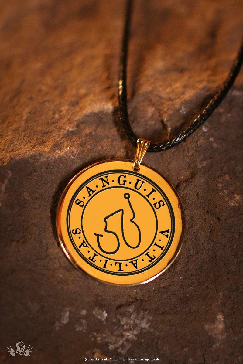 Magisches Elementar-Amulett Sanguis - Vitalitas