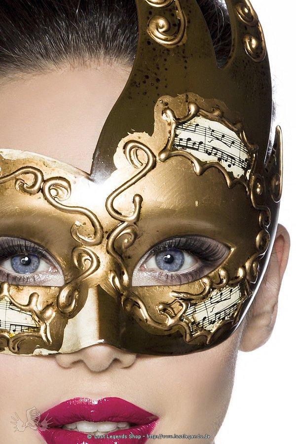 Maske braun