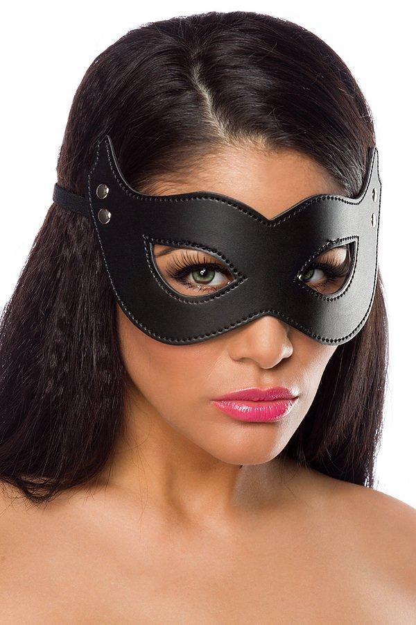 Maske schwarz