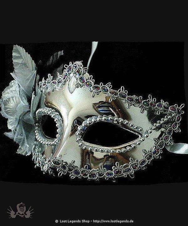 Maske silber