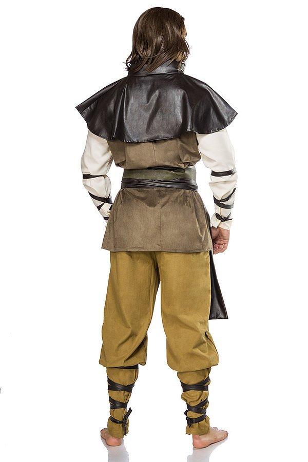 Medieval Man Komplettset braun/weiß/schwarz