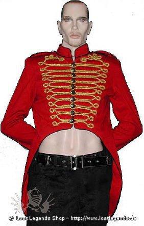 Military Tail Jacket Steampunk Mantel