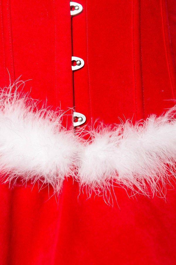 Miss Santa Komplettset rot/weiß