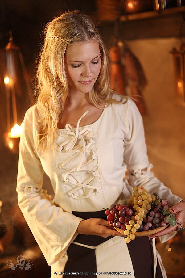 Mittelalter Bluse Melyna