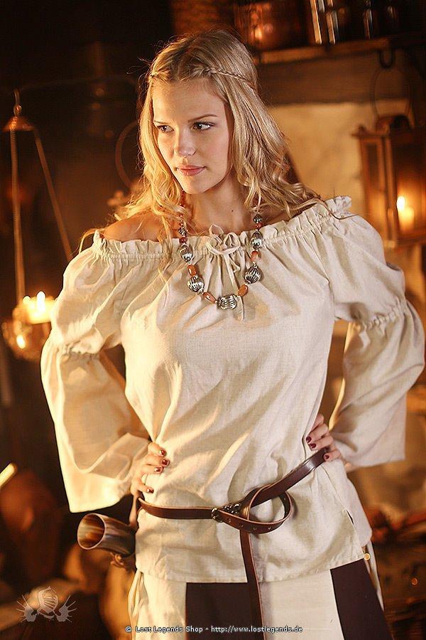 Medieval Blouse Nathilda