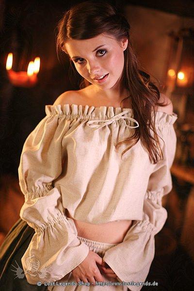 Mittelalter Bluse Jessyja