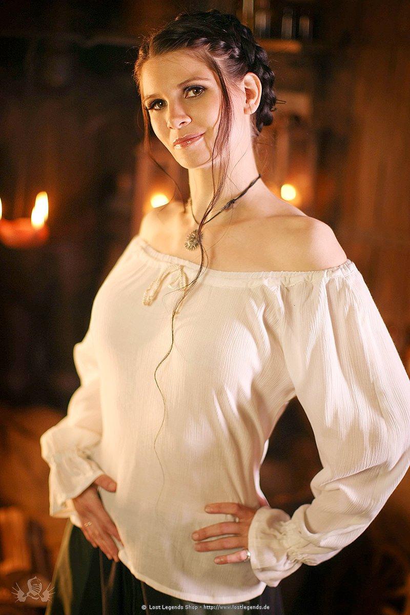Mittelalter Bluse Kathrina