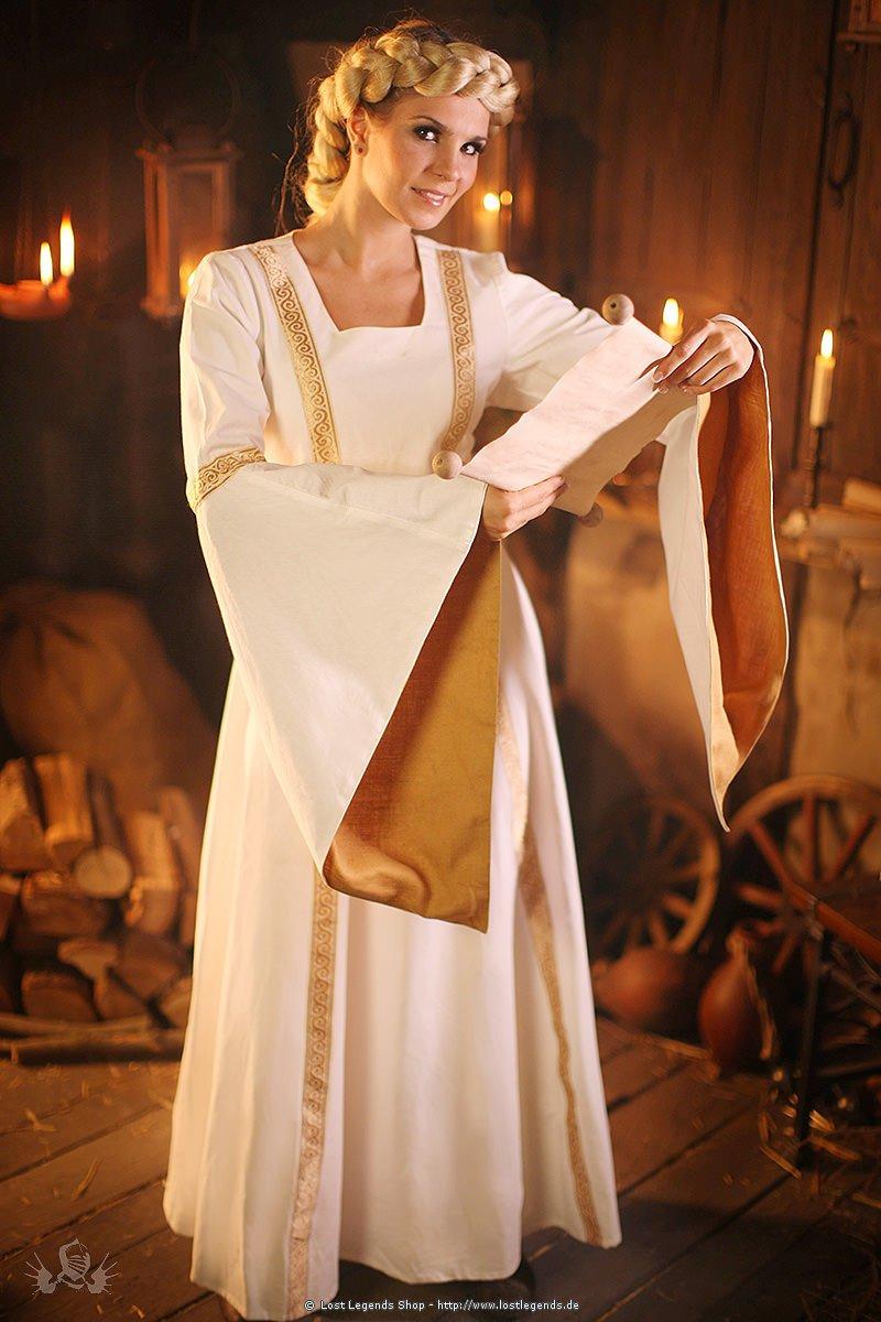 Mittelalter Brautkleid Mittelalterliches Hochzeitskleid