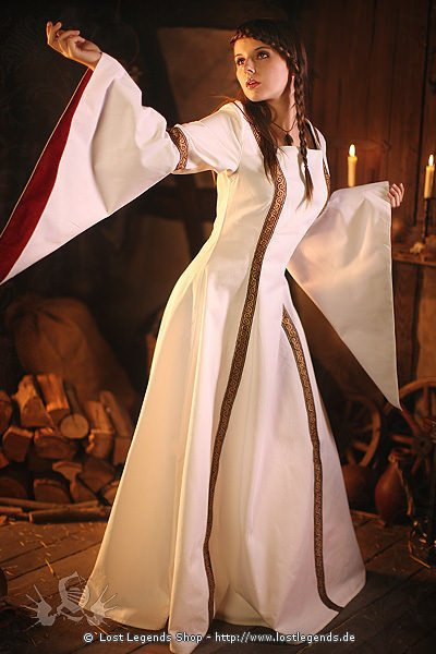 Mittelalter Hochzeitskleid Gysella