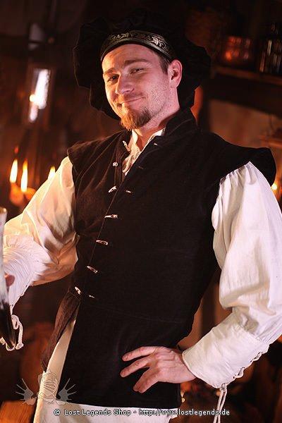 Mittelalter Jacke aus Samt