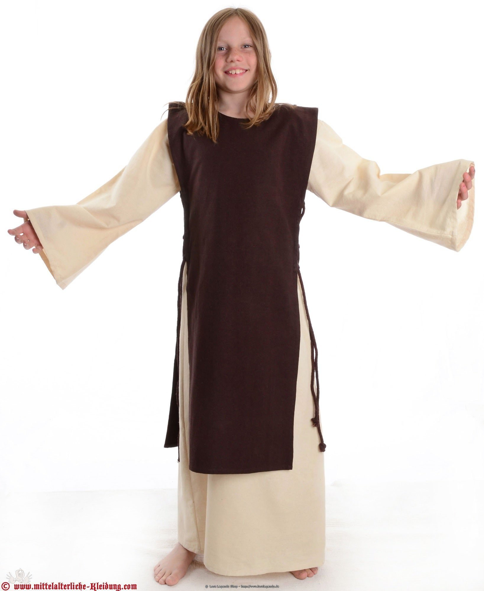 Mittelalter Kinderkleid Alyze