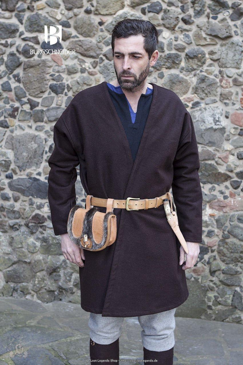 Mittelalter Klappenrock Loki, braun