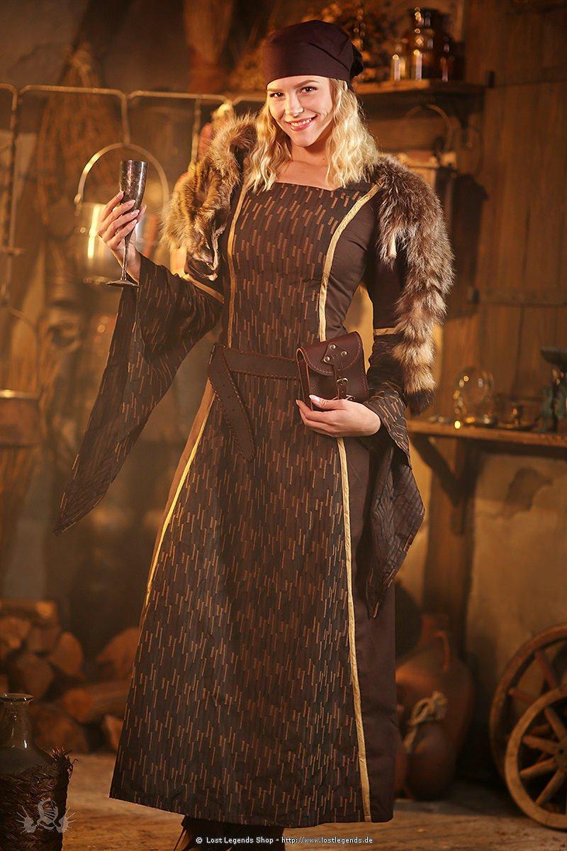 Mittelalter Kleid Brunhilde