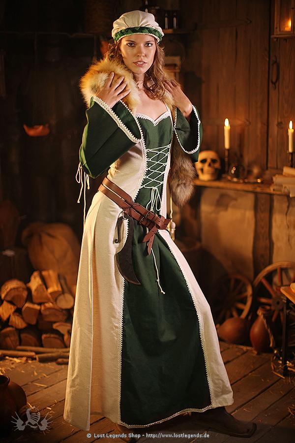 Mittelalter Kleid Schnürkleid Corynna