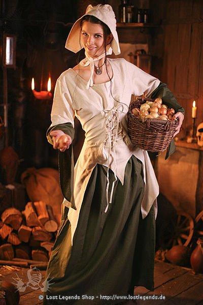 Mittelalter-Kleid Helgha