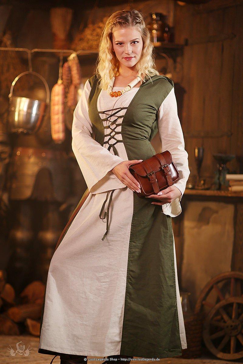Mittelalter Kleid mit Schnürung