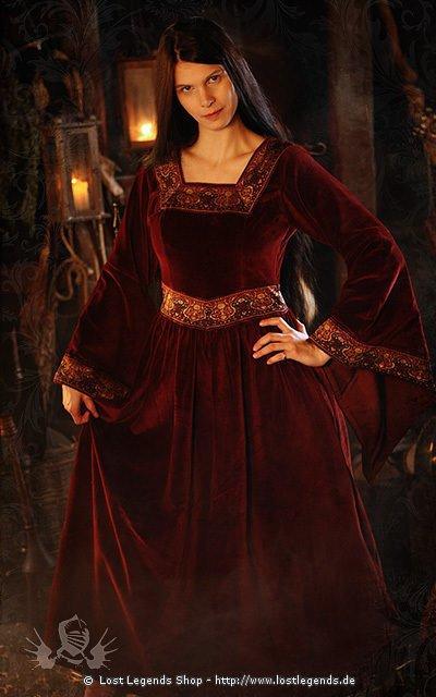 Mittelalter Adelskleid Anna Boleyn