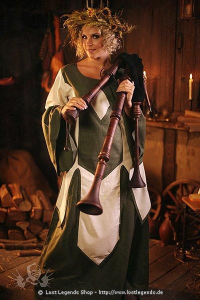 Mittelalter-Kleid Spielfrau