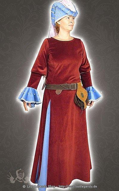 Mittelalter Kostüm Gotisches Damenkleid