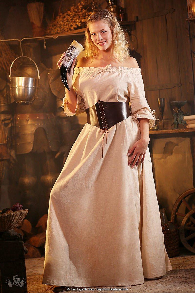 Mittelalterliches Kurzarmkleid