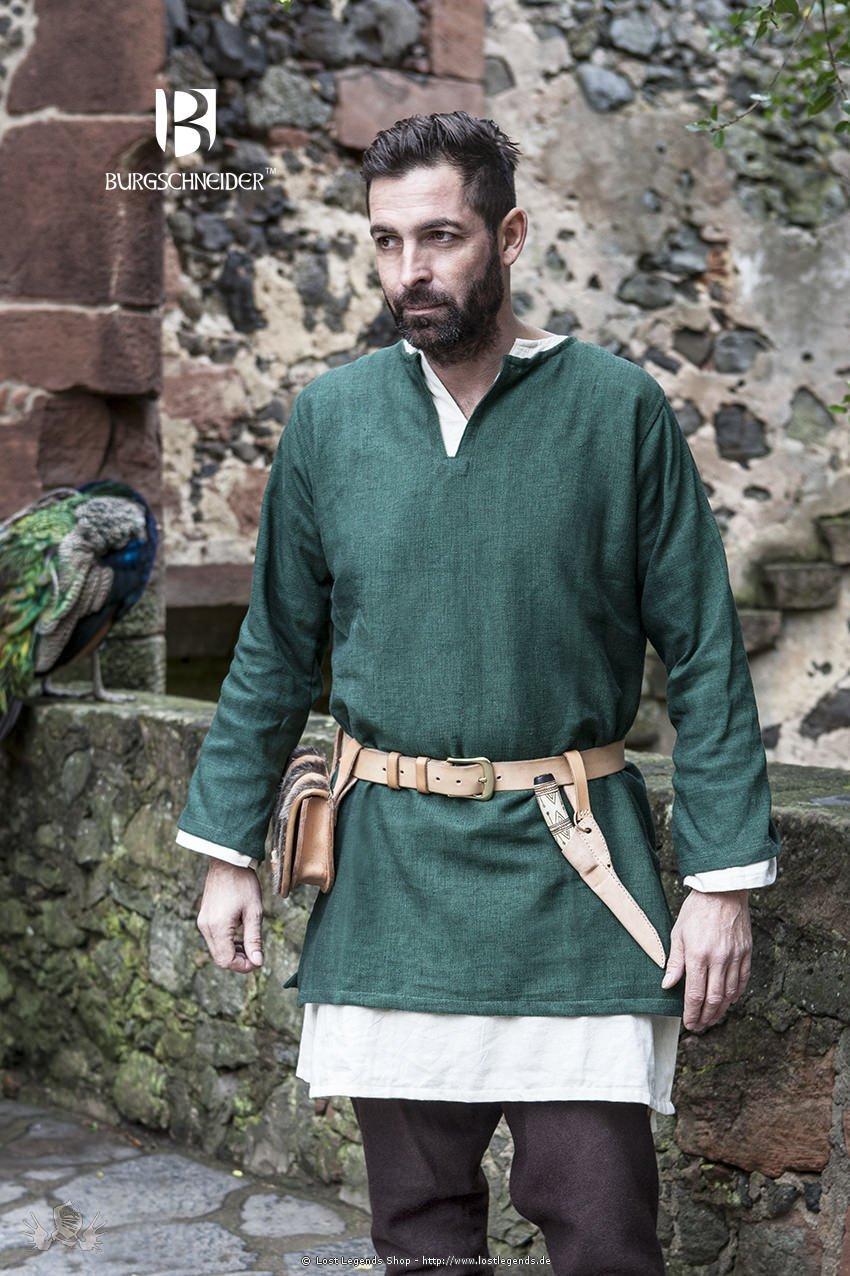 Mittelalter Kurztunika Erik, grün