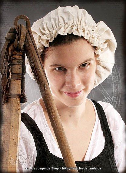 Mittelalter Landfrauen Haube